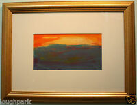 Original Oil Painting MOUNTAIN SUNSET by known Irish Artist HARRY REID HRUA