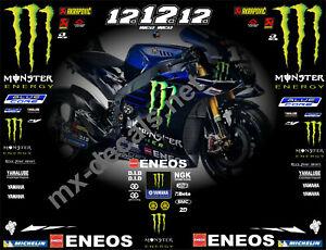 Yamaha Moto gp 2019 Maverick Vinales decal set