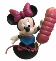 Minnie Mouse Walt Disney Vintage Telephone Retro Fully Working 90s Rare