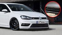 Spoilerschwert Frontspoiler aus ABS für VW Golf 7 R-Line ABE schwarz glänzend