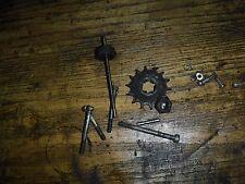 Harley Davidson  hummer  1960 BT super 10 clutch push rod sprocket nut screws ++