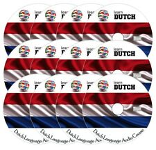 Learn to speak DUTCH - Complete Language Training Course on 12 AUDIO CDs