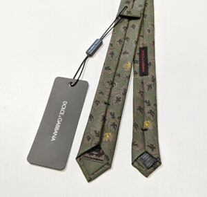 Details about  /Dolce/&Gabbana Men White Slim Tie 100/% Silk Formal Party Exclusive Skinny Cravat