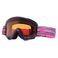Oakley 57-414 O Frame Slate Purple w/ Persimmon Womens Girls Ski Snow Goggles .