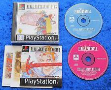 Final Fantasy Origins I + II 1 + 2, PS1, PlayStation 1 Spiel, OVP und Anleitung