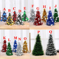 Shining Christmas Tree Festival Home Party Ornaments Xmas Decoration 17 Color UK