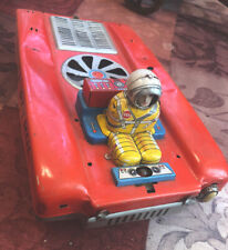 Vintage 1960's Cragstan Space Mobile lunar Patrol Tin Toy