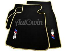 Floor Mats BMW M5 Series E39 With /// M5 Emblem Beige Rounds & Clips LHD NEW