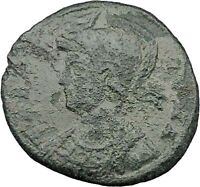 "Constantine I The Great Ancient Roman Coin Romulus & Remus ""Mother"" wolf  i32303"