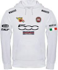 FELPA FIAT 500 MARTINI RACING ABARTH maglietta POLO ALFA ROMEO t-shirt maglia BI