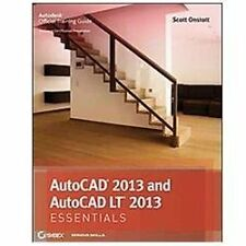 AutoCAD 2013 and AutoCAD LT 2013 Essentials by Onstott, Scott