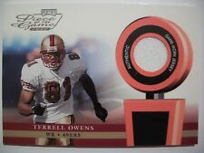 2002 PLAYOFF PIECE OF THE GAME FOOTBALL TERRELL OWENS  !! BOX # 42