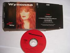 WYNONNA Tell Me Why – 1993 German CD Maxi-Single – Country - BARGAIN!