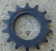 """SHIMANO DURA-ACE STEEL 14T 1/8"""" VINTAGE FIXED/ TRACK BICYCLE SPROCKET"""