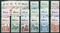 Berlin Burgen und Schlösser postfrisch komplett Oberrand 532-540,587-590,673-677