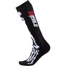 CALZE MTB ENDURO O`Neal Pro MX Sock XRay black/white (One Size - Taglia Unica)