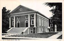C11/ Opp Alabama AL Postcard c1920 M.E. Church South Church Building