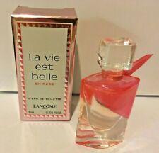 Lancome La Vie est Belle En Rose L'Eau de Toilette 3ml  new&boxed