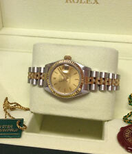 Rolex Women's Brushed Wristwatches
