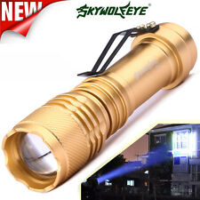 6000LM CREE Q5 AA/14500 3 Modes ZOOMABLE LED Flashlight Torch Super Bright q