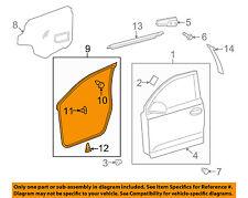 Scion TOYOTA OEM 08-14 xD Front Door-Weatherstrip Seal Left 6786252200