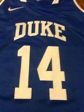 Nike Team Issued Duke Blue Devils Womens Sleeveless Lacrosse Jersey Sewn On, Nwt