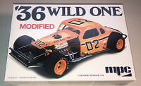 MPC 1936 Wild One Modified stock car 1:25 scale model kit new 929