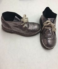 CREWCUTS Glitter MacAlister Boots Pink Multicolored Fashion Shoes Girls' Size 10