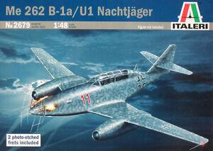 Italeri 1/48 2679 Me 262 B-1a/U1 NACHTJAGER