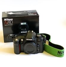 Nikon n80 35mm SLR Film Camera With Box + Pelican Case