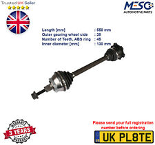 DRIVE SHAFT AXLE FITS FOR AUDI A6 AVANT A8 1.9 2.4 2.5 2.8 3.0 1997-2005 LEFT
