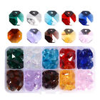 100pcs Crystal Octagon Beads Prisms Beads Chandelier DIY Hanging Part 14mm