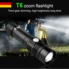 Super Hell 40000LM XML T6 LED Zoom Fokus Taschenlampe Flashlight Torch Lampe