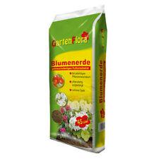 GartenFlora Blumenerde Premium Qualität 45L Universalerde Zimmerpflanzenerde