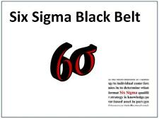LEAN SIX SIGMA BLACK BELT TRAINING & TOOLS