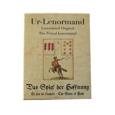 Primal original jeu Lenormand de l'espérance fortune telling 36 cartes instructions