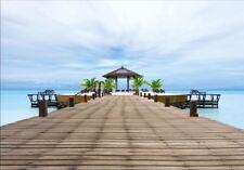 Photographie / Papier peint mural - Île Paradis Mer 2,54 x 3,66 m - Eurographics
