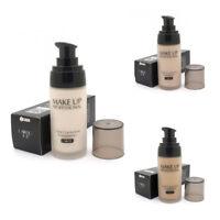 LAIKOU Whitening Flawless Coverage Fulid Liquid Foundation Concealer Moistu M0X6