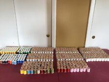 400 Belding Corticelli WOODEN SPOOLS THREAD & 150 Holland Thread Spools VTG LOT