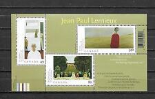 pk33130:Stamps-Canada #2068 Jean Paul Lemieux Souvenir Sheet - MNH