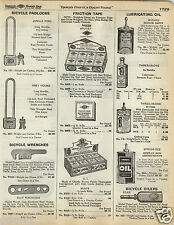 1935 PAPER AD Wizard Machine Oil Three In One 3 in 1 Bottle Can Spring Eez