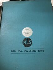 Digital Voltmeters NLS 1962 Hardcover Book Engineering Good Condition