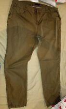 ETAM women's kaki chinos trouser, UK16/EU44