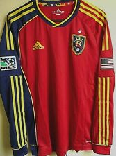 MLS Adidas Real Salt Lake Soccer Authentic Long Sleeve Jersey M NWT 7627A