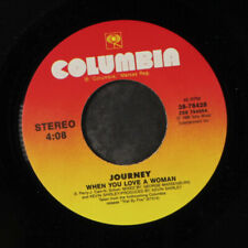 JOURNEY: When You Love A Woman / Message Of love 45 Rock & Pop