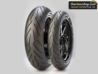 Pirelli DIABLO ROSSO 3 III 120/70/zr17 & 160/60/zr17 SET Motorcycle SPORTS Tyres