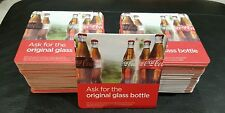 COCA COLA BAR MATS BRAND NEW FULL PACK PUB/BAR/MANCAVE/PARTY