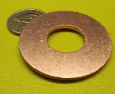 """110 Copper Round Washer,  3/4"""" Screw Size, 2.00"""" OD,  4 Pcs"""