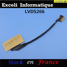 LCD DEL SCREEN VIDEO FLEX BUTTON DISPLAY CARLING CARBON EDP 30PIN CABLE LVDS