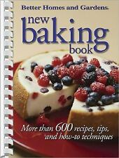 New Baking Book : More Than 600 Recipes, 2004 Spiral Bound Paperback NEW